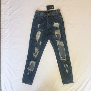 Janel Boyfriend Jeans